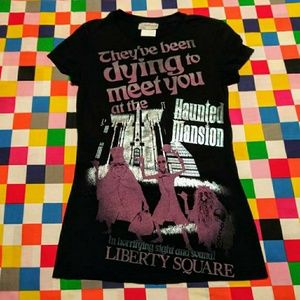 Disney haunted mansion t-shirt vintage